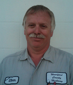 Maintenance Worker Glenn Fischer